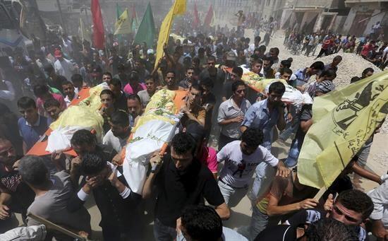 Aunque en Gaza dicen que la mayoría de los muertos y heridos son...