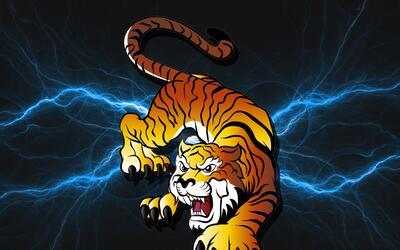 """Sagitario """" Sábado 8 de febrero: ¡Un buen comienzo! tigre.jpg"""