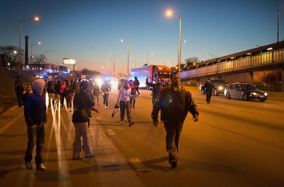 Protestas por la muerte de Pierre Loury
