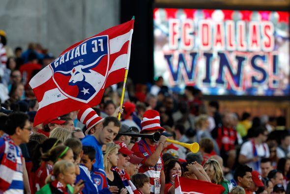 Dallas FC se llevó la victoria ante Real Salt Lake de forma dramática.