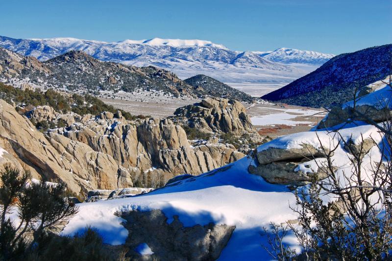Así se ve el invierno en los parques nacionales de Estados Unidos CITY O...