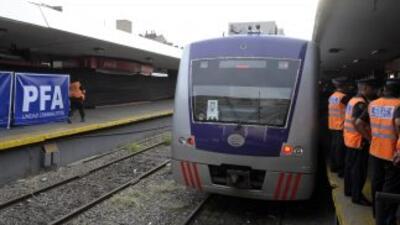 El conductor del tren que se impactó en la estación Once en Buenos Aires...