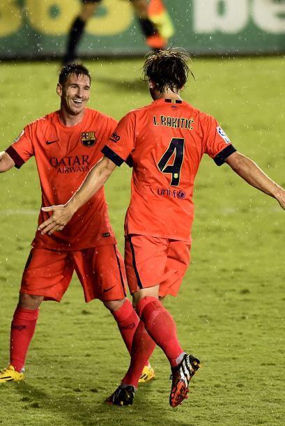 En la jornada 4, Messi tuvo actuación muy destacada en la paliza...