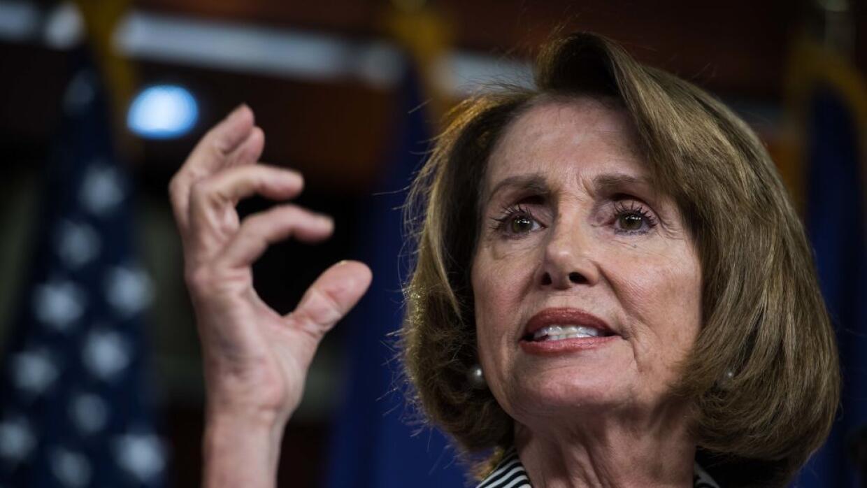 Nancy Pelosi está de acuerdo con censurar a Trump.