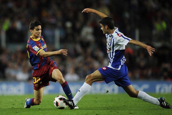 Barcelona estrenó su título con un empate sin goles ante el Deportivo.