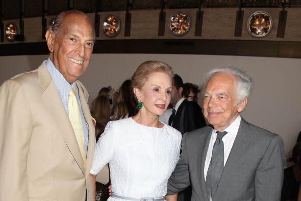Oscar de la Renta y Carolina Herrera, dos potencias influyentes y creado...