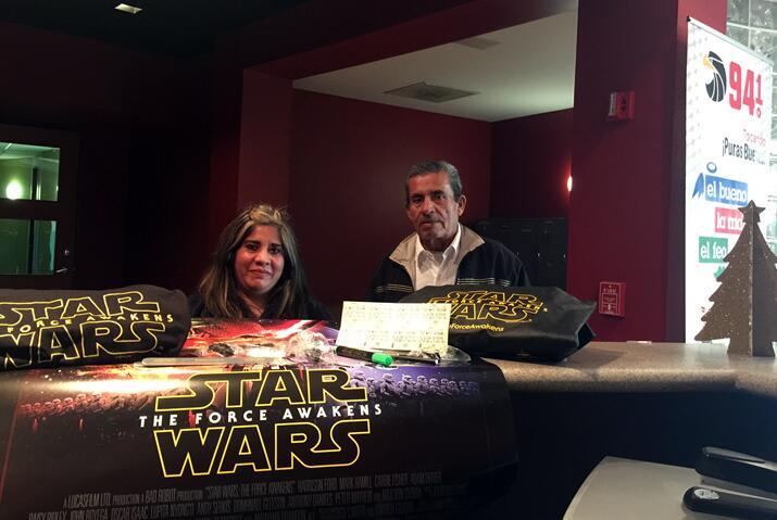Olga Ramirez gano un paquete de premios de la película con Uforia Dallas