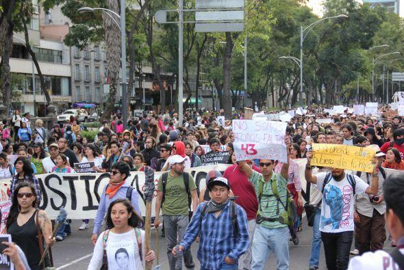 Las calles más emblemáticas y turísticas de México se inundaron de manif...