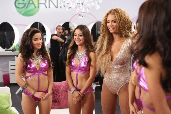 El reto de Zuleyka Rivera con las chicas de Nuestra Belleza Latina fue u...
