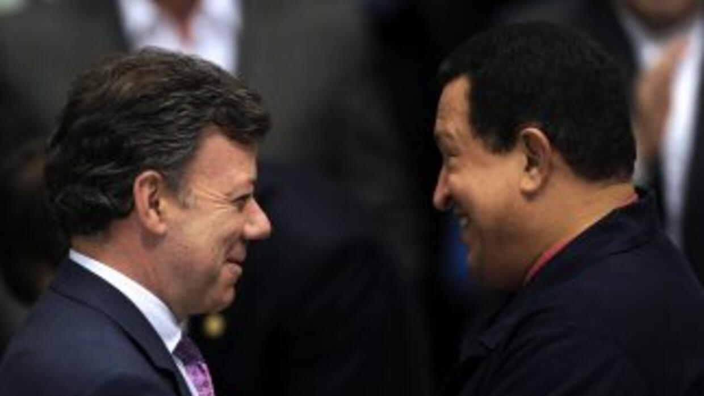 Juan Manuel Santos y Hugo Chávez se reunirán por tercera vez en Cartagen...