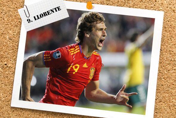 Todo mundo esperaba el histórico gol de David Villa con 'La Roja', pero...