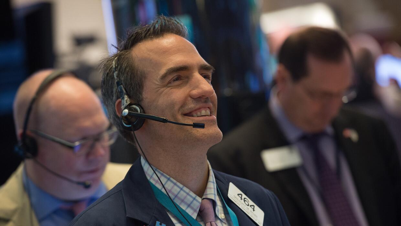 Un broker de Wall Street en una foto de agosto.