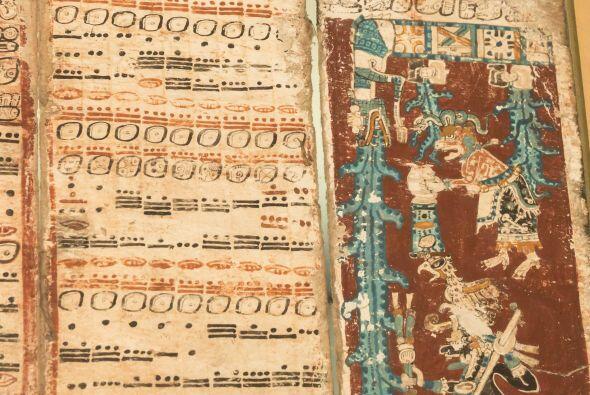 Los documentos que enumerar el calendario maya hablan de que el mundo co...