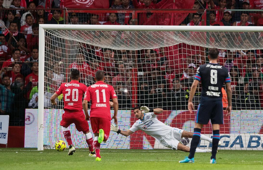 ¡Hoy no hubo infierno para Cruz Azul! La Máquina venció 2-0 al Toluca Pe...