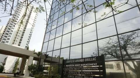 La sede de Mossack Fonseca en el edificio Arango Orillac en Ciudad de Pa...