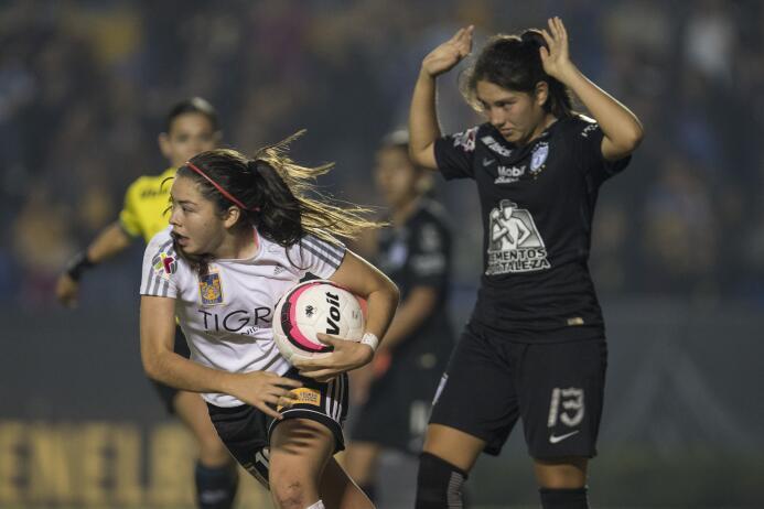 Tigres vs. Pachuca semifinales Liga MX femenil