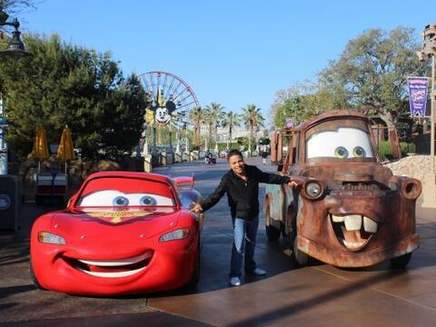 Danny Luna desde Disneyland