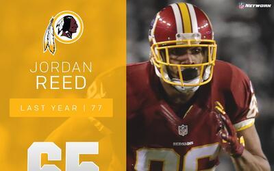 #65 Jordan Reed (TE, Redskins) | Top 100 Jugadores 2017