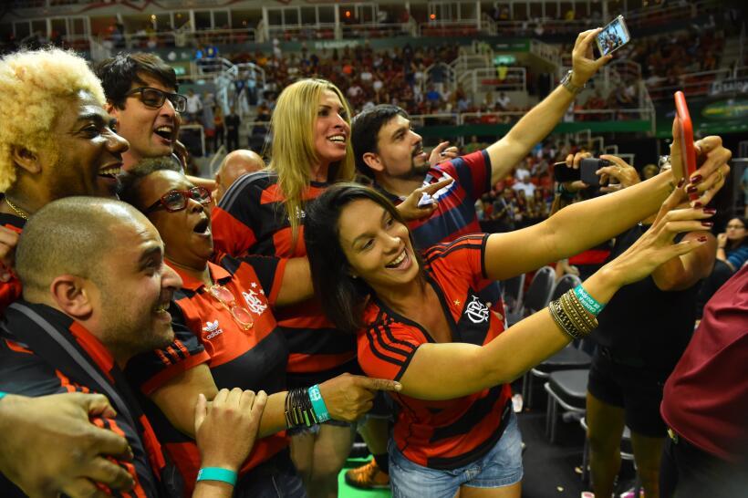 El Flamengo fracasó ante el deseo de tomarse una revancha frente...