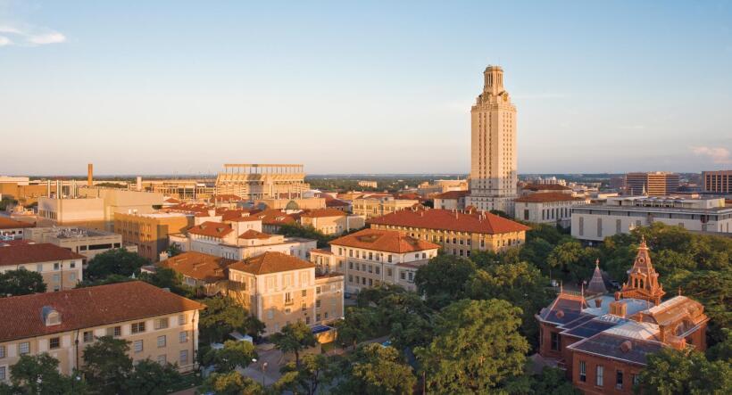 8) University of Texas, Austin, TX | Total de bachilleratos otorgados: 2...