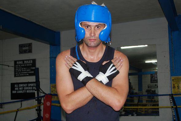 El Conde K listo para su primera pelea profesional.