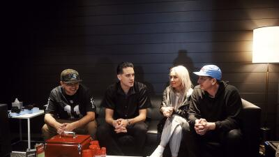 Rapper G-Eazy sits down backstage to talk to Anthony A., Dana Cortez and...