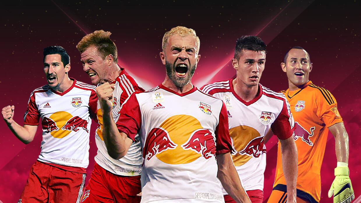 NY Red Bulls ganadores del Supporters Shield