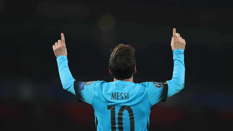Jugador del Partido: Lionel Messi