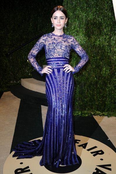 La joven actriz Lily Collins tiene un estilo único que nunca pasa...
