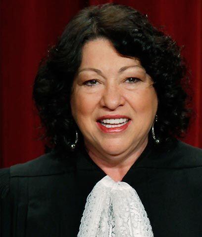 """Sonia Sotomayor en la Corte Suprema  """"Yo como jueza sé la importancia qu..."""