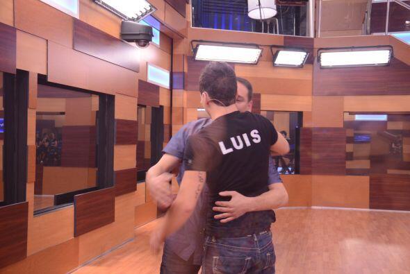 Luis le confesó a su padre estar un poco estresado por el encierro y de...
