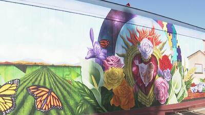 Revelan mural en honor de las mujeres en San José