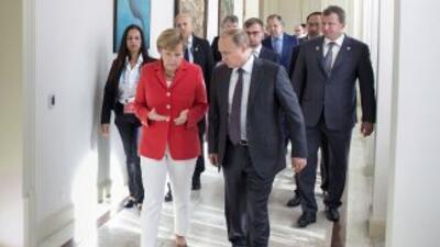 La final del Mundial de fútbol también reúne a jefes de Estado en Brasil.