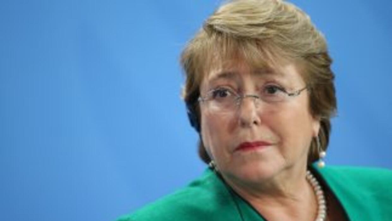 La presidenta de Chile, Michelle Bachelet.