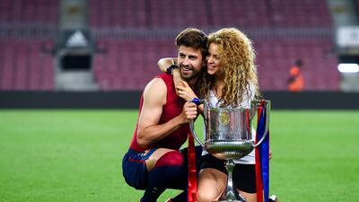 Piqué y Shakira cumplen años el mismo día y celebran un amor unido por el deporte