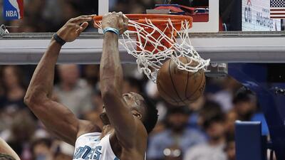 Hornets amplían racha triunfal ante Mavs con gran juego de Howard