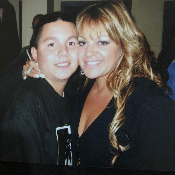 Jenni Rivera y Michael Marín Rivera
