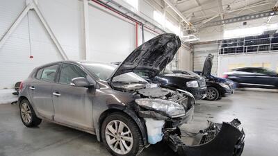 Los riesgos de comprar un carro dañado