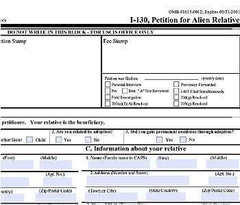 Los peticionarios de un Formulario I-130 pueden retirar el pedido en cua...