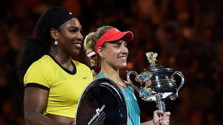 Serena Williams y Angelique Kerber.