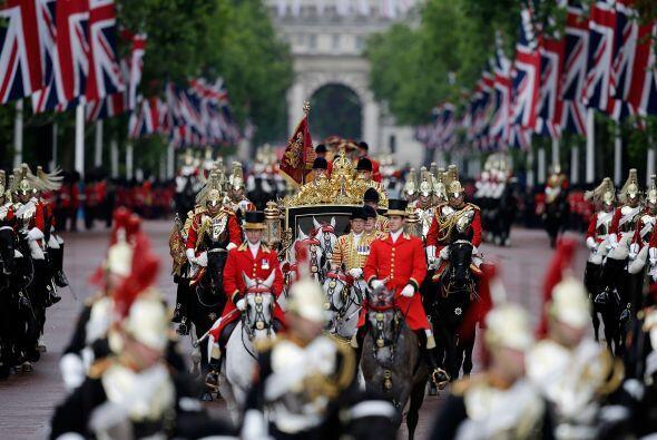 Una vez construida, la carroza ha sido adquirida por la Royal Collection...