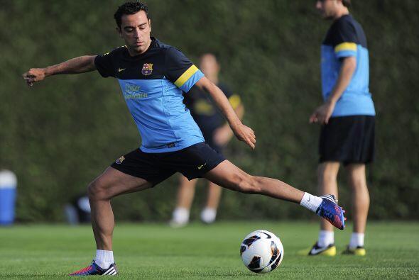 Mismo caso de Xavi Hernández, uno de los capitanes del club.