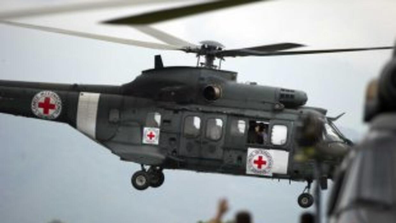 El militar fue entregado a una comisión humanitaria conformada por repre...