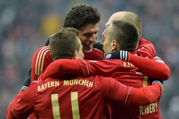 El referente goleador del Bayern Munich, Mario Gómez.
