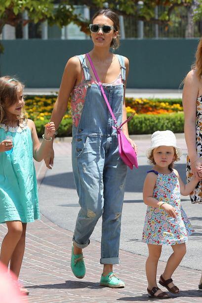 Otras pequeñas 'it girls' son las hija de Jessica Alba, a su corta edad...