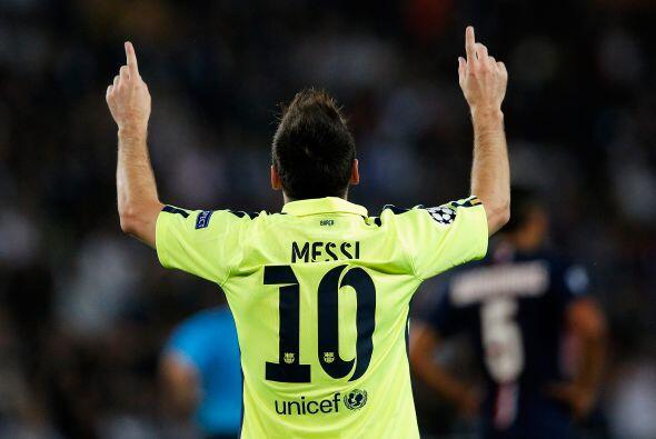 Sólo el tiempo nos hará conocer los alcances de Messi que con 27 años va...