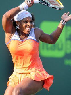 De igual forma Serena Williams está haciendo un gran torneo en Miami. (F...