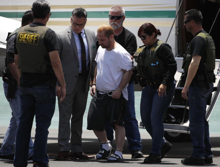 Extradición a Los Ángeles de Aramazd Andressian el viernes 30 de junio d...