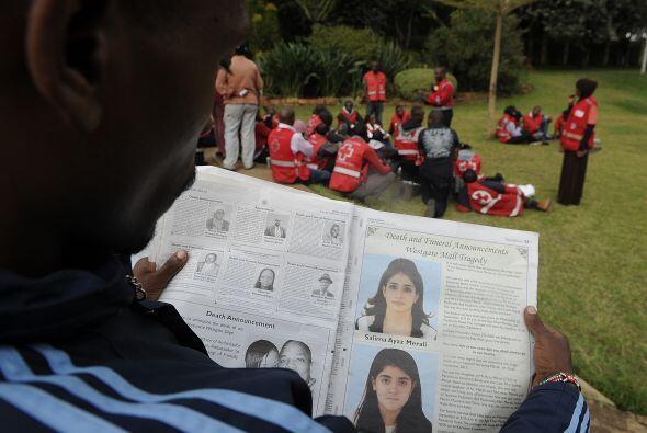 El presidente de Kenia, Uhuru Kenyatta declaró que esta era la peor acci...