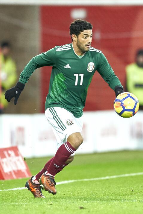 Carlos Vela (Los Ángeles F.C.) - 46 partidos jugados (19 con M&ea...